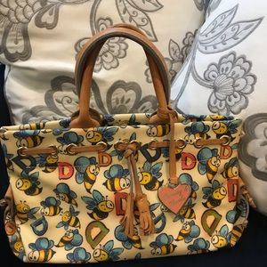 Dooney and Bourke Bumble Bee arm bag